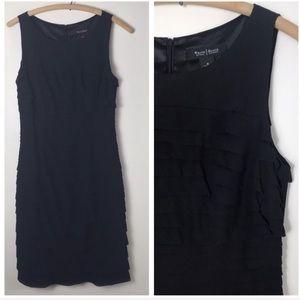 White House Black Market Ruffle Bandage Dress 4